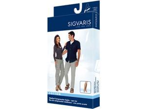 Sigvaris 232CMLO66 230 Cotton Series 20-30 mmHg OPEN Toe Knee Highs - 232C - Size- ML  - 232CMLO