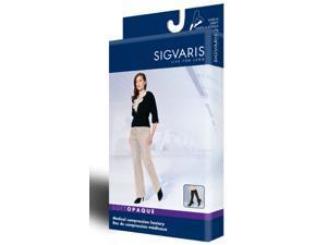 Sigvaris 841CMSW99 841C Soft Opaque 15-20 mmHg Closed Toe Knee Highs - Size- Medium Short -MS, Color- Black 99
