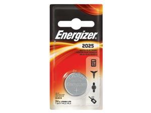 ENERGIZER Lithium 2025/CR2025 ECR2025BP 3V Coin Cell Battery, 1-pack