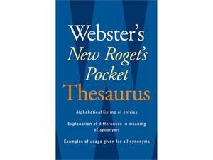 Houghton Mifflin AH-9780618953202 Websters New Rogets Thesaurus