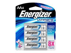 Energizer ELL91BP-4 Energizer Ultimate Lithium AA- 4 Pack