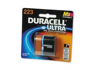 Duracell Ultra Photo 6V 233 (DL223 / EL123AP / CR-P2) Lithium Battery, 1-pack