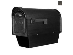 Classic SCC-2008-SW Classic Curbside Mailbox with Paper Tube-Swedish Silver