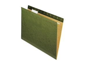 Pendaflex X-Ray Hanging File Folders 1/5 Tab Letter Standard Green 25/Box 415215