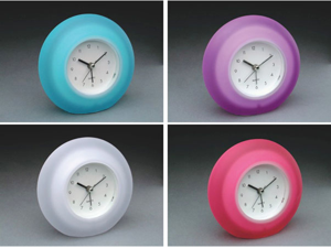 Equity By La Crosse Quartz Frosted Alarm Clock  25300