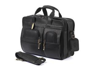 3110514adc8b Claire Chase 154XL-JUMBO-black Jumbo Executive Computer Briefcase - Black -  Newegg.com