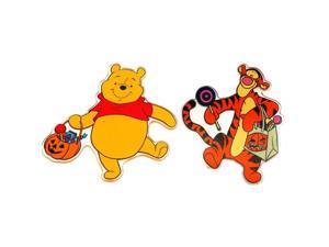Disney Pooh and Friends Halloween Window Jelz Set of 2-0197-92209057A
