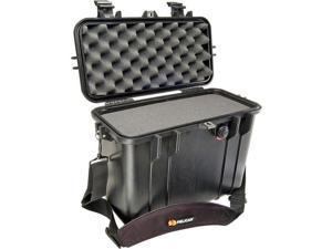 PELICAN 1430-000-110 Black 1430 Top Loader Watertight Hard Case with Foam Insert