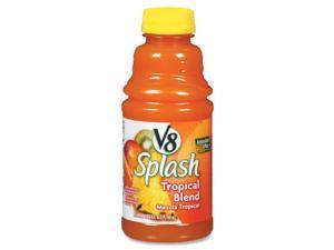 V8 Splash Juice Drinks 16oz 12/PK Tropical Blend 5516