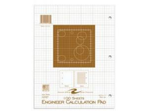 Roaring Spring Paper Products 95182 Engineering Pad - 24 Per Case