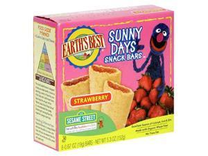 Earths Best 39162 Sesame Street Organic Strawberry Snack Bar