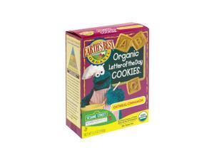 Earths Best 39154 Sesame Street Organic Oatmeal Cinnamon Cookies