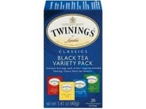 Twinings 26973 Twinings Tea Variety Pack- 6x20 BAG