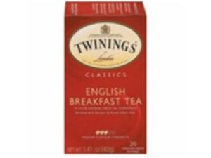 Twinings 26978 Twinings English Breakfast Tea- 6x20 BAG