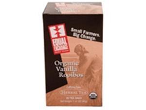 Equal Exchange 53270-3pack Equal Exchange Herbal  Vanilla Rooibos Tea - 3x20 bag