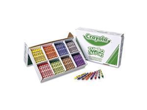 Crayola. 528389 Jumbo Classpack Crayons, 25 Each of 8 Colors, 200/Box