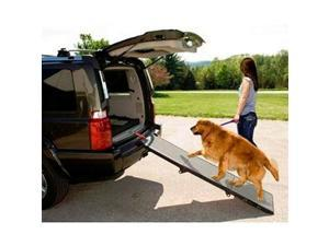"72/"" x 18.75/"" Portable Extra Wide Folding Dog Loading Ramp"