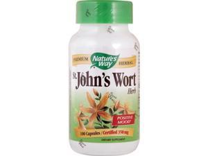 Natures Way St Johns Wort Herb - 100 Capsules