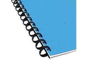 Swingline 15005 Zip Combs Spines, .31 in. Diameter, Black, 50-Pack