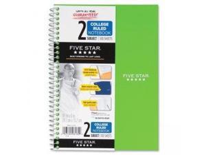 Five Star Notebook,9.5x6,100sh 06180