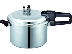 Brentwood BPC-112 9.5 Quart Pressure Cooker, Aluminum