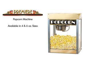 Benchmark USA 11048 Premiere Popcorn Machine - 4 Oz