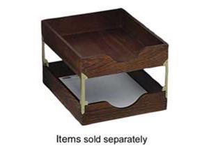 Carver Wood Products- INC. CVRCW07212 Wood Desk Tray- Letter Size- Walnut