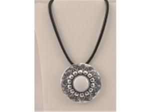 Silver Tone Pendant Necklace-049-40348