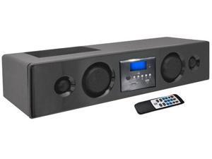 SOUND AROUND-PYLE INDUSTRIES PSBV200BT 300 Watt Bluetooth Soundbar with USB-SD-FM Radio and Wireless Remote