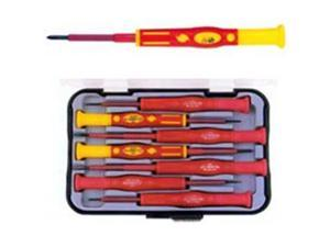 Morris Products 54232 1000 Volt Insulated Precision Screwdriver 7 Piece Set