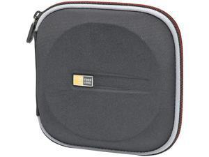 Case Logic EVW-24BLACK Case logic 24-cd zippered wallet