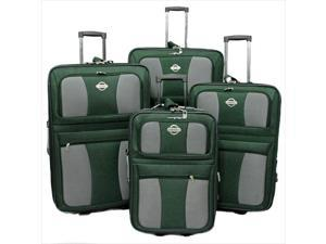 899c31a318 Transworld 73E4100-GREEN All Inclusive 4-Piece EVA Molded Expandable ...