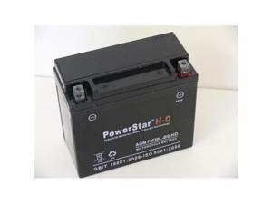 PowerStar PM20L-BS-HD-60 310Cca Ytx20Hl-Bs Jet Ski Battery For Kawasaki 1500Cc Jt1500-A Stx-15F 2009