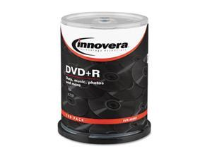 Innovera 46891 DVD Recordable Media - DVD+R - 16x - 4.70 GB - 100 Pack Spindle