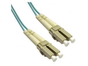 CableWholesale LCLC-31020 Multimode Aqua 10 Gig Fiber Optic 50-125