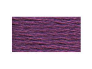 DMC Six Strand Embroidery Cotton 8.7 Yards-Very Dark Violet