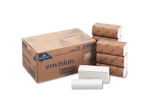 GEORGIA-PACIFIC 24590 Envision White Paper Towels, Multifold,  16 Pack, 250