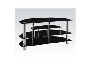 Acme Furniture 91064 MARABEL ALUMINIUM AND GLASS TV STAND