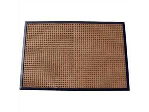 Durable Corporation 630S0046BN 4 ft. W x 6 ft. L Stop-N-Dry Mat in Brown