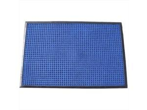 Durable Corporation 630S0046BL 4 ft. W x 6 ft. L Stop-N-Dry Mat in Blue