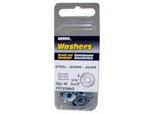 FPC FPC6SWAS Steel Washer, 40 Pack - Pack Of 5