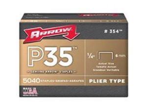 Arrow Fastener Co Staple 1/4 Inch For P35 354