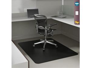 Deflecto SuperMat Frequent Use Chair Mat Medium Pile Carpet Beveled 36 x 48