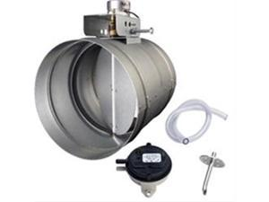 "Broan MD8TU 8"" Universal Automatic Make-Up Air Damper with Pressure Sensor Kit"
