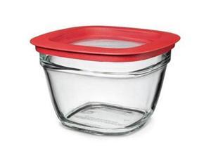 5.5CUP GLASS SQR BWL - Case of 2