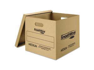 Fellowes Manufacturing 7716401 Smoothmove Classic Moving And Storage Boxes, Kraft