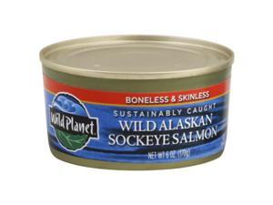 WILD PLANET SALMON SCKEYE WILD-6 OZ -Pack of 12