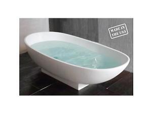 Cambridge Plumbing CM-01 Cultured Cm-01 Marble Bathtub