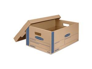 Fellowes Manufacturing 0066001 Smoothmove Prime Moving Boxes With Lift Off Lid, 24 x 15 x 10 in.