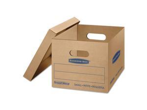 Fellowes Manufacturing 7714210 Smoothmove Classic Moving Boxes, Kraft - 15 L x 12 W x 10 H in.